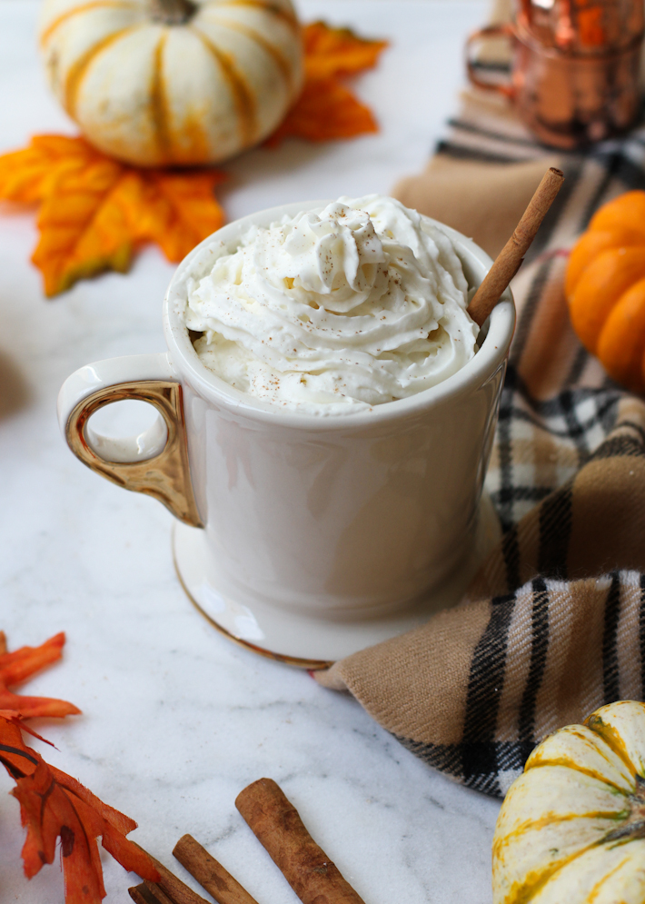 the 105 calorie pumpkin spice latte || joyfully so