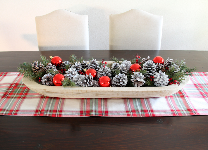 diy easy christmas holiday centerpiece christmas decorations