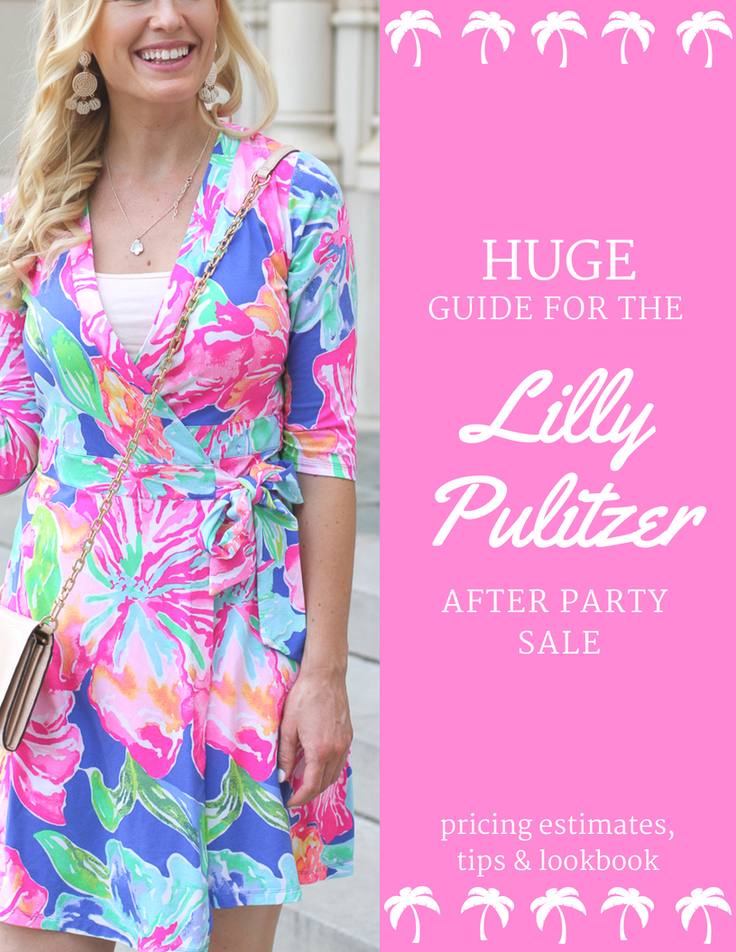 bb6b820f2ab1c6 Lilly Pulitzer After Party Sale 2018 | Pricing Estimates - joyfully so
